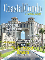 Coastal Condo Living - Winter Edition - magazine cover