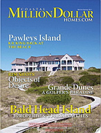 Coastal Million Dollar Homes - Vol. 22 - No. 3 - North Carolina - magazine cover